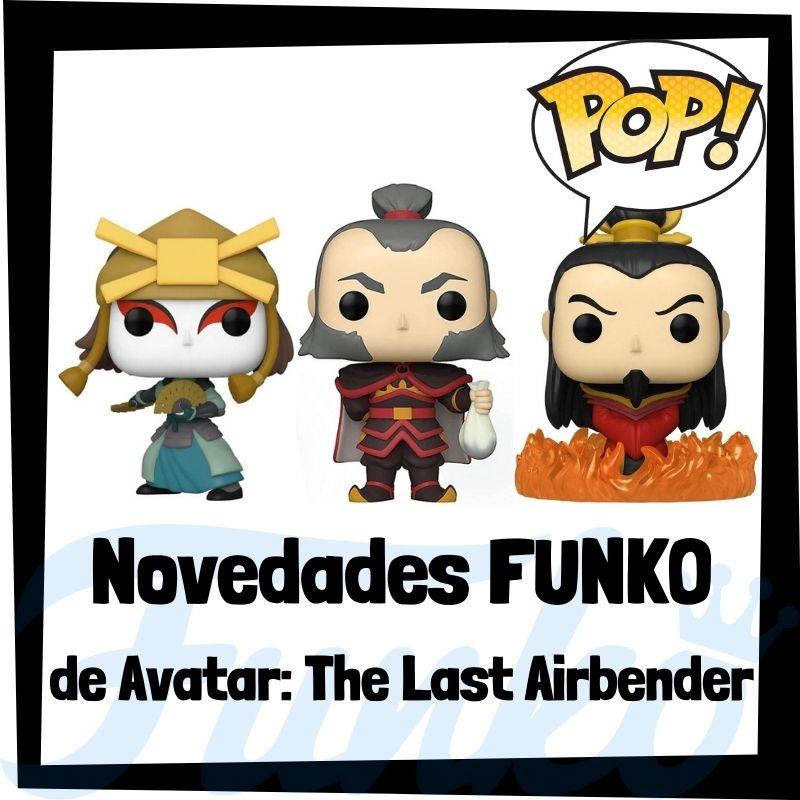 Nuevos FUNKO POP de Avatar: la leyenda de Aang