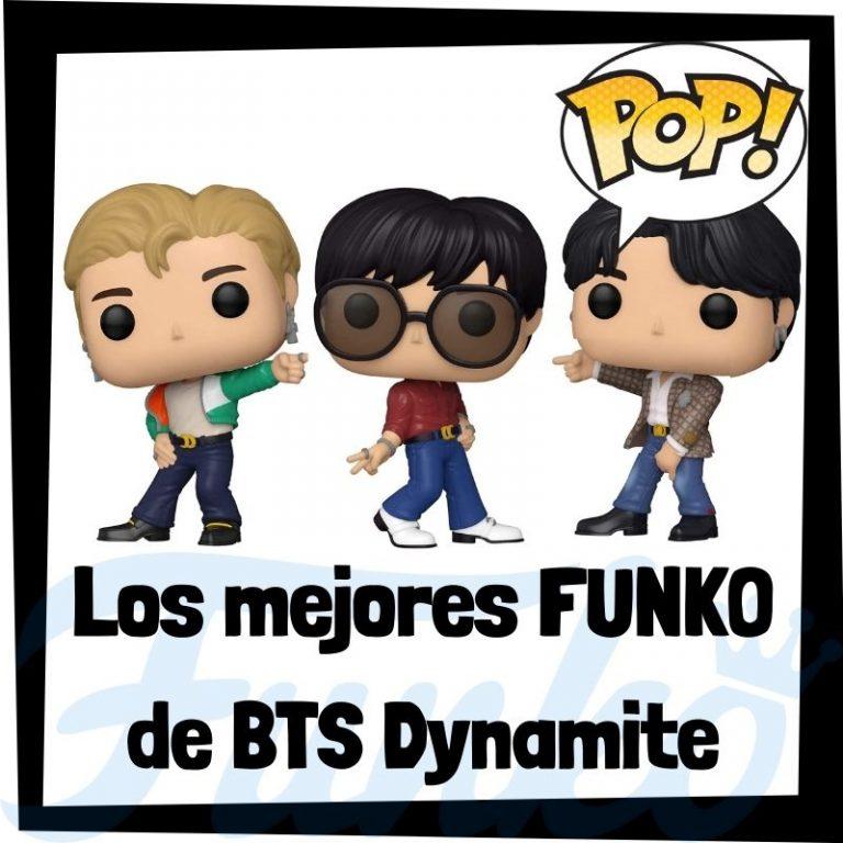 Lee más sobre el artículo Los mejores FUNKO POP de BTS Dynamite