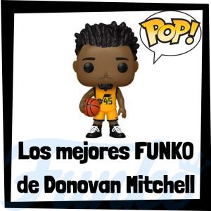 Los mejores FUNKO POP de Donovan Mitchell de la NBA - Los mejores FUNKO POP de jugadores históricos de Donovan Mitchell - Los mejores FUNKO POP de deportistas