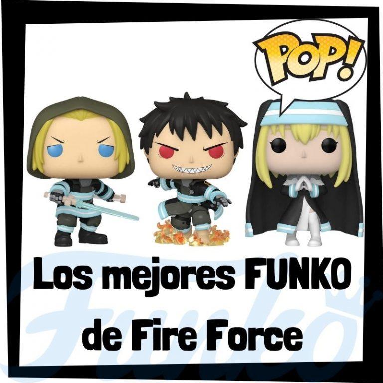 Lee más sobre el artículo Los mejores FUNKO POP de Fire Force