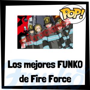 Filtraciones de FUNKO POP de Fire Force