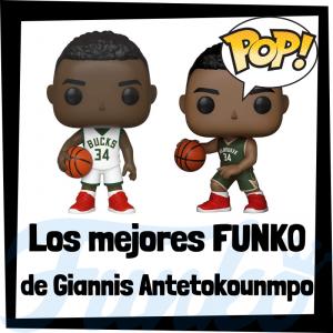 Los mejores FUNKO POP de Giannis Antetokounmpo de la NBA - Los mejores FUNKO POP de jugadores históricos de Giannis Antetokounmpo - Los mejores FUNKO POP de deportistas