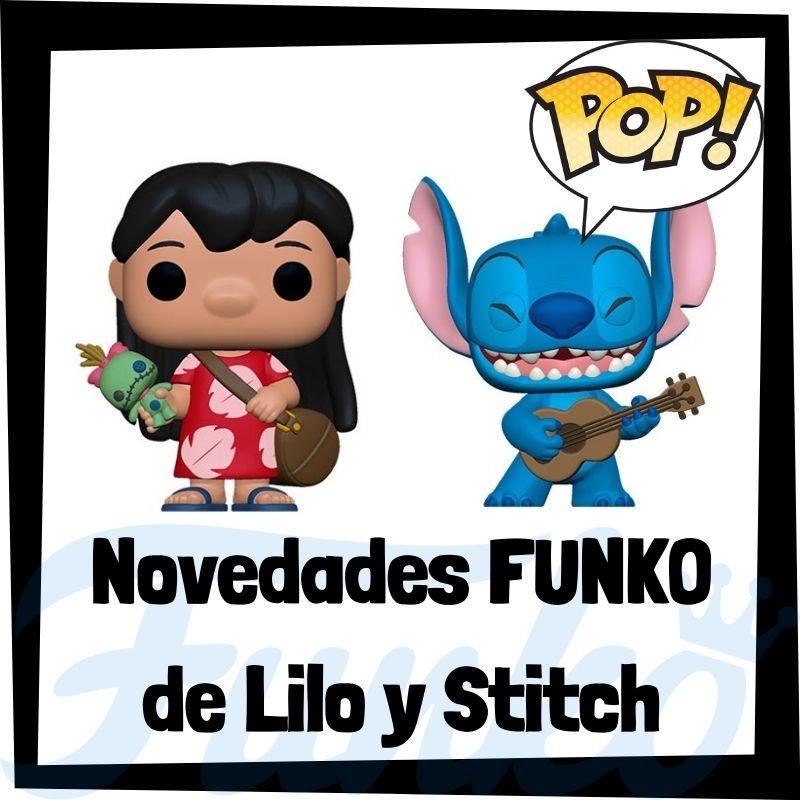 Nuevos FUNKO POP de Lilo y Stitch