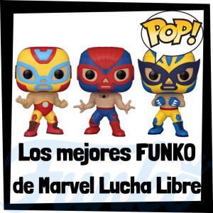 Los mejores FUNKO POP de Marvel Luchadores - FUNKO POP de Marvel Lucha Libre Collection - Funko POP de luchadores