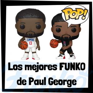 Los mejores FUNKO POP de Paul George de la NBA - Los mejores FUNKO POP de jugadores históricos de Paul George - Los mejores FUNKO POP de deportistas