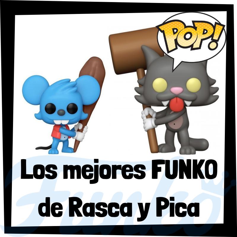 Los mejores FUNKO POP de Rasca y Pica de los Simpsons