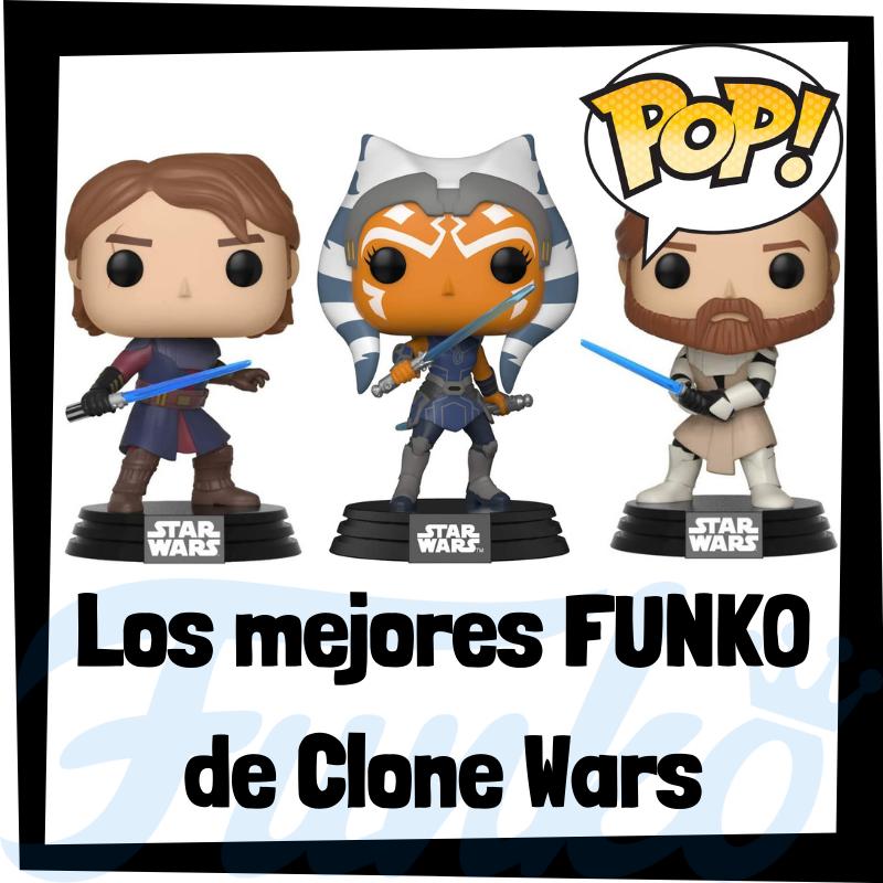 Los mejores FUNKO POP de Star Wars Clone Wars