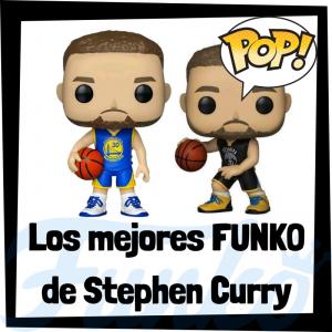 Los mejores FUNKO POP de Stephen Curry de la NBA - Los mejores FUNKO POP de jugadores históricos de Stephen Curry - Los mejores FUNKO POP de deportistas
