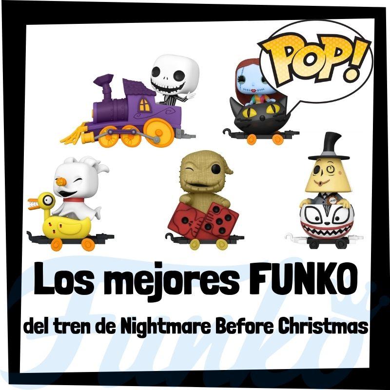 Los mejores FUNKO POP de tren de Pesadilla antes de Navidad