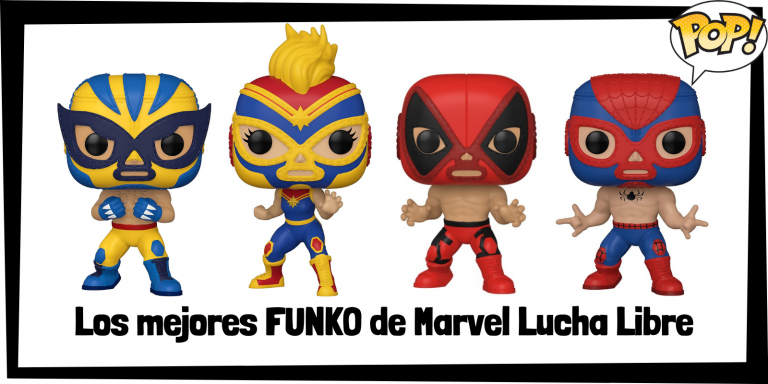 Los mejores FUNKO POP de luchadores de Marvel con máscaras mexicanas - Lucha Libre Marvel Collection