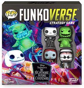 Los mejores Funkoverse POP de Pesadilla Antes de Navidad - FUNKO Games - Funkoverse Juego de Estrategia de Pesadilla antes de Navidad en ingles