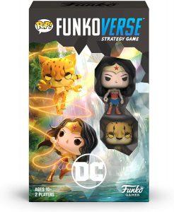Los mejores Funkoverse POP de Wonder Woman de DC - FUNKO Games - Expansión de FUNKOVERSE de Wonder Woman y Cheetah en inglés