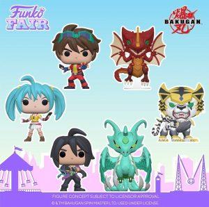 FUNKO POP de Bakugan - FUNKO Fair 2021 Día 2 - Novedades FUNKO POP