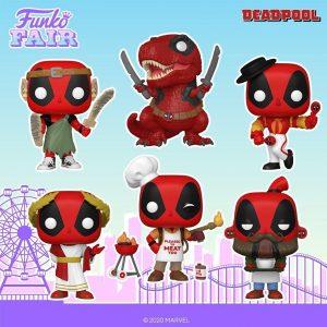 FUNKO POP de Deadpool 30 aniversario - FUNKO Fair 2021 Día 4 - Novedades FUNKO POP