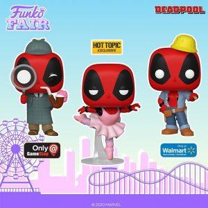 FUNKO POP de Deadpool 30 aniversario exclusivos - FUNKO Fair 2021 Día 4 - Novedades FUNKO POP