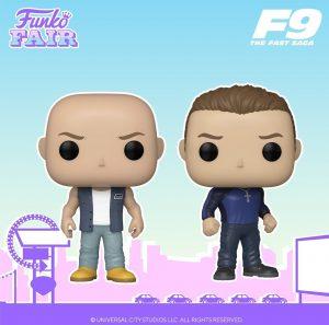 FUNKO POP de Fast 9 - Fast and Furious 9 - FUNKO Fair 2021 Día 5 - Novedades FUNKO POP