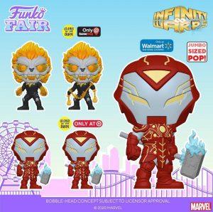 FUNKO POP de Infinity Warps 2 - FUNKO Fair 2021 Día 4 - Novedades FUNKO POP