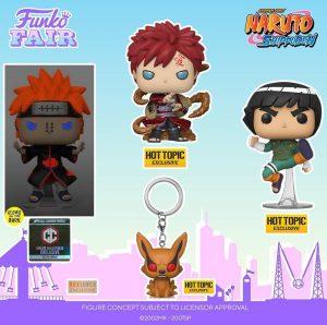 FUNKO POP de Naruto Shippuden 2 - FUNKO Fair 2021 Día 2 - Novedades FUNKO POP