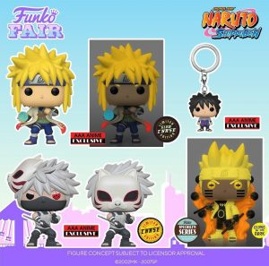 FUNKO POP de Naruto Shippuden 4 - FUNKO Fair 2021 Día 2 - Novedades FUNKO POP