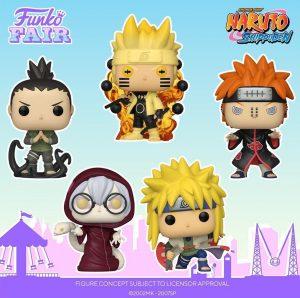 FUNKO POP de Naruto Shippuden - FUNKO Fair 2021 Día 2 - Novedades FUNKO POP