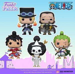 FUNKO POP de One Piece - FUNKO Fair 2021 Día 2 - Novedades FUNKO POP