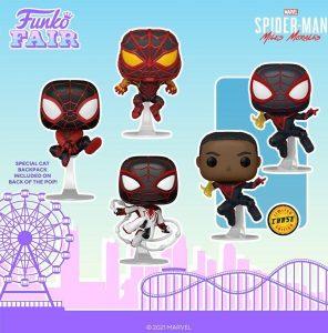 FUNKO POP de Spider-Man Miles Morales del Gamerverse 2 - FUNKO Fair 2021 Día 4 - Novedades FUNKO POP