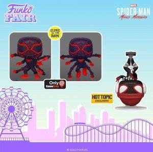 FUNKO POP de Spider-Man Miles Morales del Gamerverse 3 - FUNKO Fair 2021 Día 4 - Novedades FUNKO POP