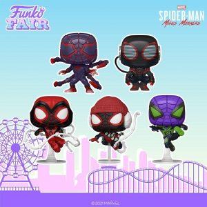 FUNKO POP de Spider-Man Miles Morales del Gamerverse - FUNKO Fair 2021 Día 4 - Novedades FUNKO POP