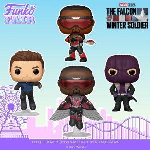FUNKO POP de The Falcon and the Winter Soldier - FUNKO Fair 2021 Día 4 - Novedades FUNKO POP