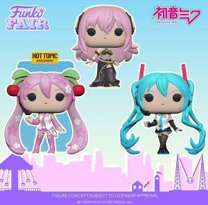 FUNKO POP de Vocaloid - FUNKO Fair 2021 Día 2 - Novedades FUNKO POP