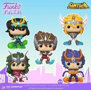 FUNKO POP de los Caballeros del Zodíaco - FUNKO Fair 2021 Día 2 - Novedades FUNKO POP