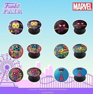 FUNKO Sockets de Marvel Black Light - FUNKO Fair 2021 Día 4 - Novedades FUNKO POP