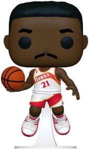Funko POP de Dominique Wilkins de NBA Legends - Los mejores FUNKO POP de NBA Legends - FUNKO POP de la NBA FF2021