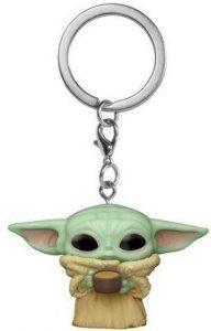 Llavero Funko POP de Baby Yoda - Grogu - The Child de The Mandalorian de Star Wars - Los mejores llaveros FUNKO POP de Star Wars - Keychain FUNKO POP