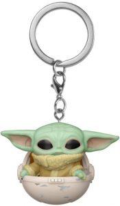 Llavero Funko POP de Baby Yoda en la cuna de The Mandalorian de Star Wars - Los mejores llaveros FUNKO POP de Star Wars - Keychain FUNKO POP