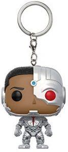 Llavero Funko POP de Cyborg - Los mejores llaveros FUNKO POP de Cyborg de DC - Keychain FUNKO POP