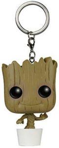 Llavero Funko POP de Dancing Groot de Guardianes de la Galaxia - Los mejores llaveros FUNKO POP de Dancing Groot de Marvel - Keychain FUNKO POP