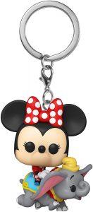 Llavero Funko POP de Dumbo y Minnie Mouse de Dumbo - Los mejores llaveros FUNKO POP de Dumbo de Disney - Keychain FUNKO POP