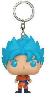 Llavero Funko POP de Goku Super Saiyan God de Dragon Ball Z - Los mejores llaveros FUNKO POP de Dragon Ball Z - Keychain FUNKO POP