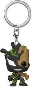 Llavero Funko POP de Groot Venomized - Los mejores llaveros FUNKO POP de Venom de Marvel - Keychain FUNKO POP