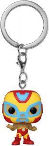 Llavero Funko POP de Iron man de Marvel Lucha Libre - Los mejores llaveros FUNKO POP de Marvel Lucha Libre - Keychain FUNKO POP