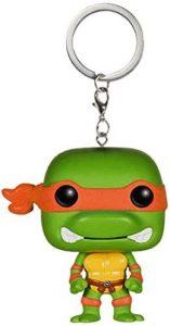 Llavero Funko POP de Michelangelo - Los mejores llaveros FUNKO POP de las tortugas ninja - Keychain FUNKO POP