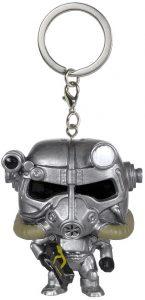 Llavero Funko POP de Power Armor de Fallout - Los mejores llaveros FUNKO POP de Fallout - Keychain FUNKO POP