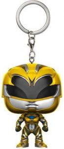 Llavero Funko POP de Power Ranger Amarillo - Los mejores llaveros FUNKO POP de Power Rangers - Keychain FUNKO POP