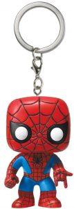 Llavero Funko POP de Spiderman clásico - Los mejores llaveros FUNKO POP de Spiderman de Marvel - Keychain FUNKO POP