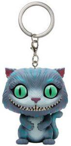 Llavero Funko POP de gato Cheshire de Alicia en el país de las Maravillas - Los mejores llaveros FUNKO POP de Alicia en el País de las Maravillas de Disney - Keychain FUNKO POP