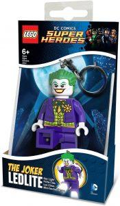 Llavero de LEGO del Joker - Los mejores llaveros de DC - Keychain