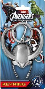 Llavero de casco de Loki - Los mejores llaveros de Loki de Marvel - Keychain