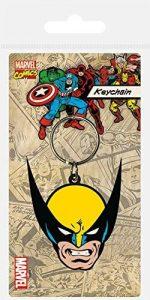 Llavero de la calavera de Ghost Rider - Los mejores llaveros del motorista fantasma de Marvel - Keychain