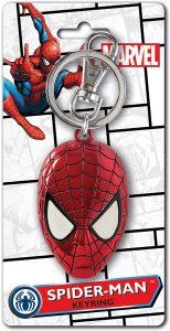 Llavero de la máscara de Spiderman - Los mejores llaveros de Spiderman de Marvel - Keychain